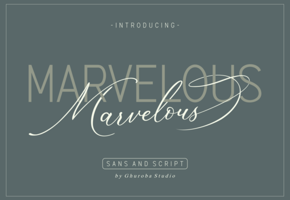 Marvelous Font Duo