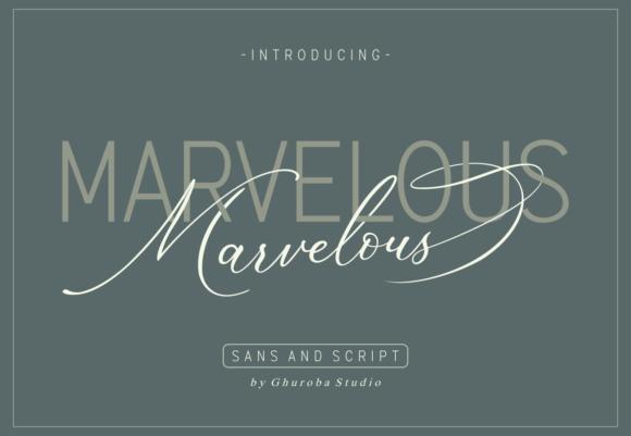 Marvelous Font Duo