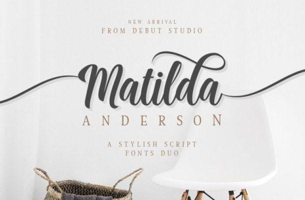 Matilda Anderson Font Duo