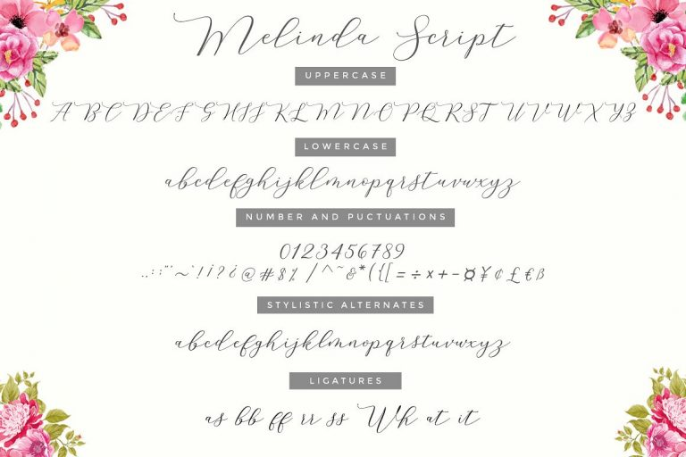 Melinda Script Font-1