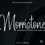 Morristone Brush Font