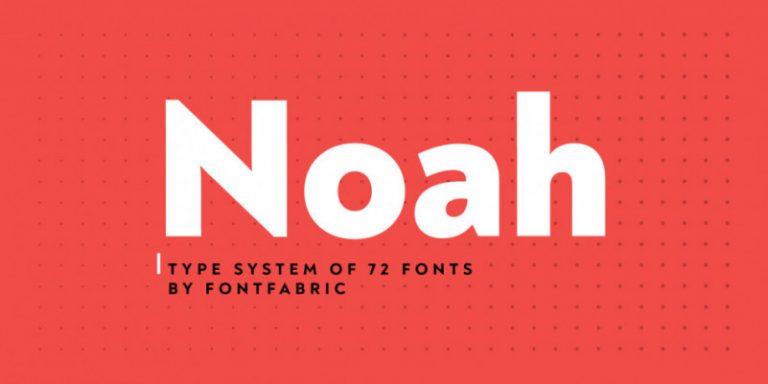 Noah Font Family - Dafont Free