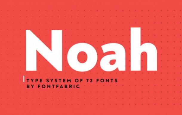 Noah Font Family
