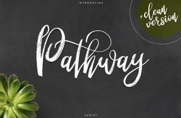 Pathway Script Font
