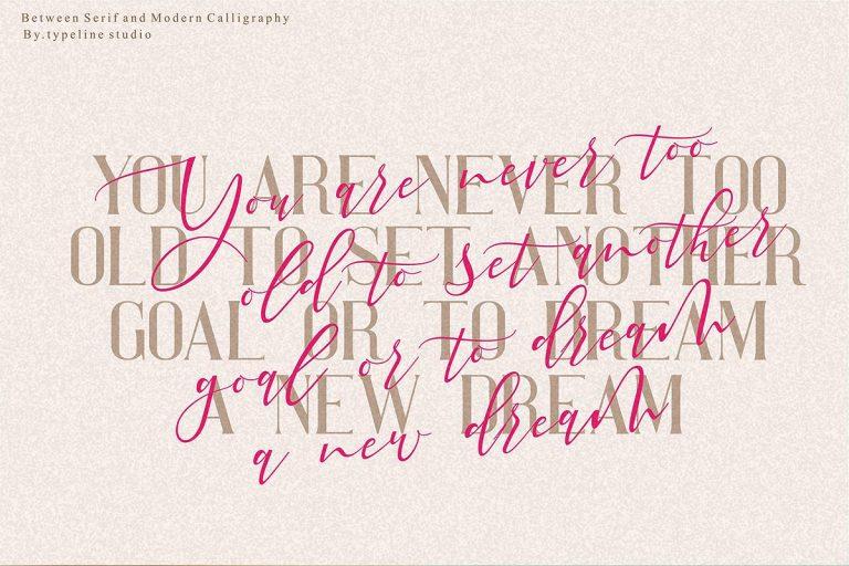 Pretty Woman Font Duo-1