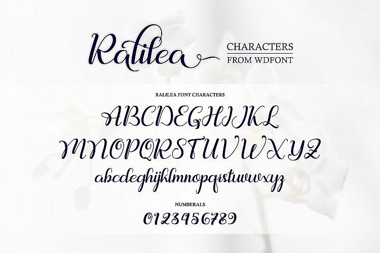 Ralilea Script Font-2