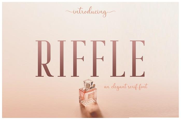Riffle Typeface