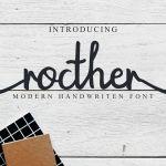 Rocther Script Font