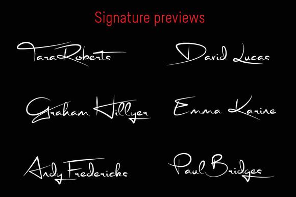 Signature font-1