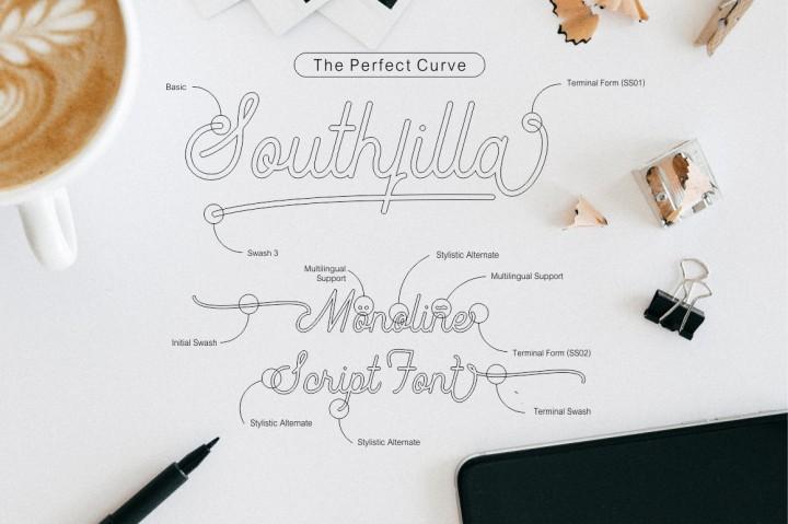 Southfilla Script Font-1