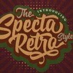 Specta Retro Script Font