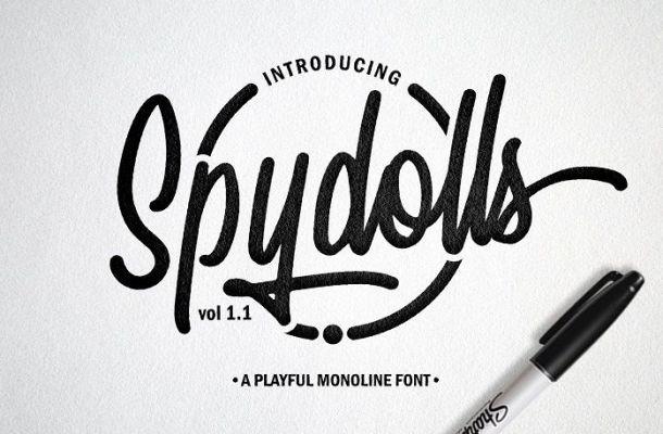 Spydolls Script Font