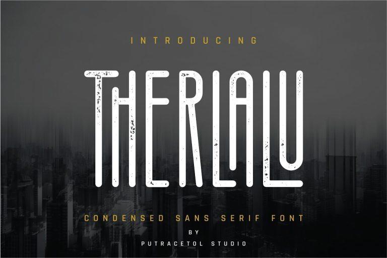 Therlalu Typeface