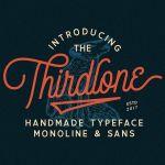 Thirdlone Handmande Font
