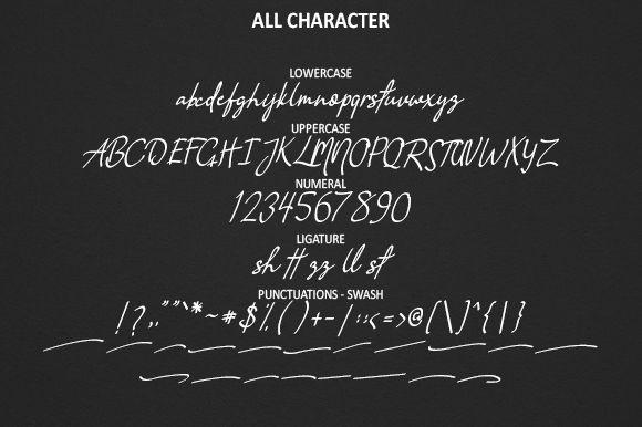 Vanilla Script Font-2
