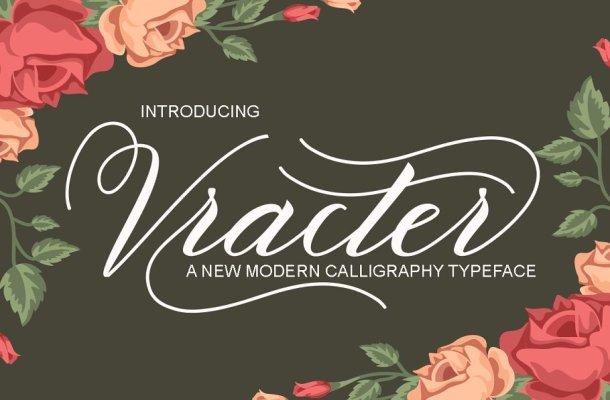 Vracter Script Font
