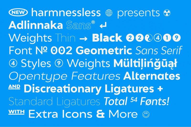 Adlinnaka Font Family-2