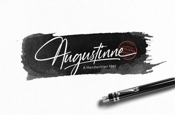 Augustinne Handwritten Font