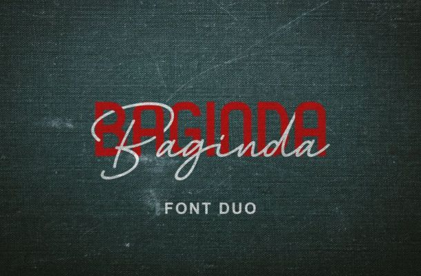 Baginda Font Duo