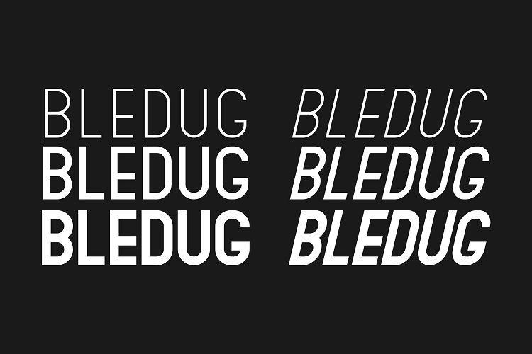 Bledug Font Family-3