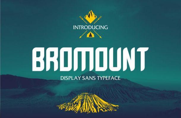 Bromount Typeface