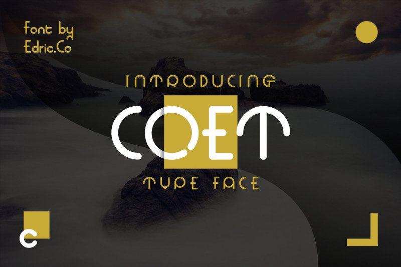 COET Font Family