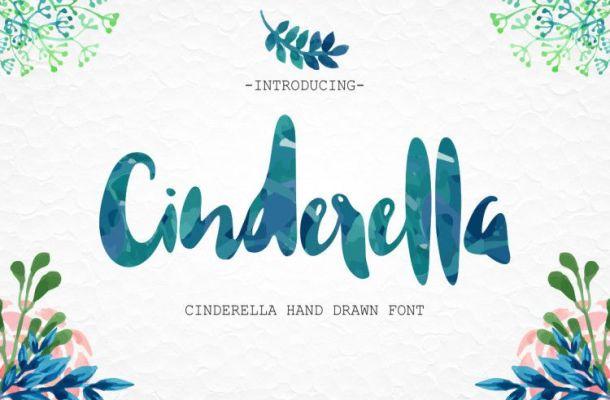 Cinderella Hand Drawn Font