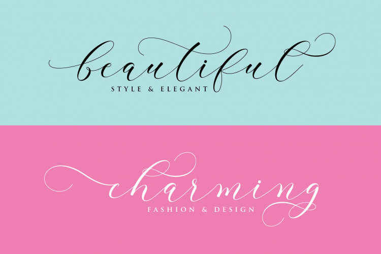 Clover Calligraphy Font-2