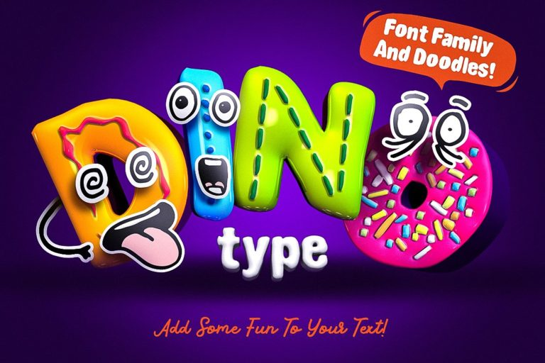 DinoType Font Family