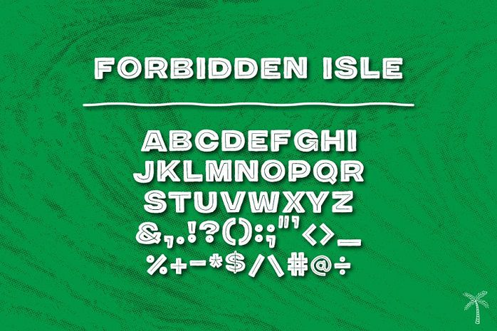 Forbidden Isle Tiki Font-3
