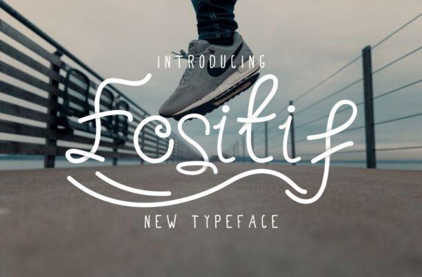 Fositif Fancy Happy Font