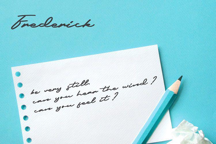 Frederick Script Font-2