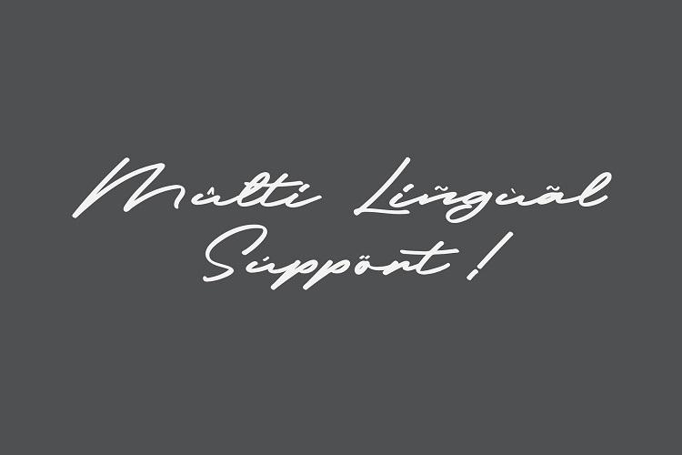 Frederick Script Font-3