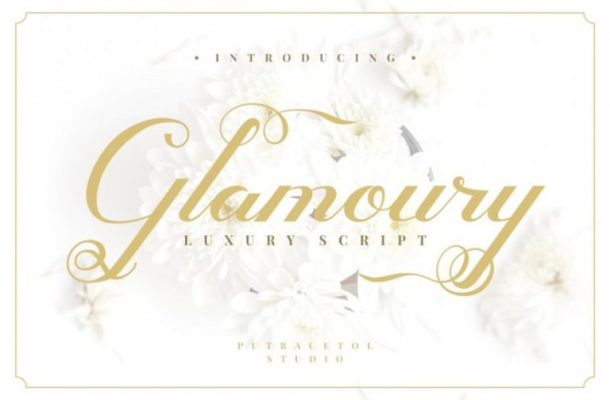 Glamoury Script Font
