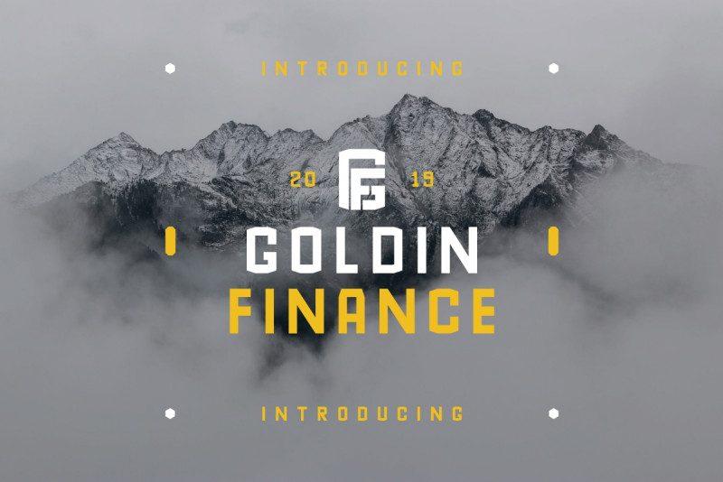 GoldinFinance Typeface