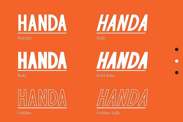 Handa Sans Font Family-2