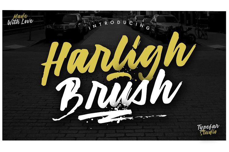 Harligh Brush Font