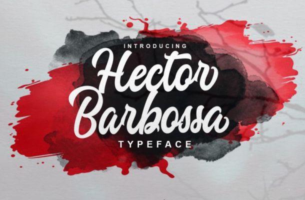 Hector Barbossa Script Font