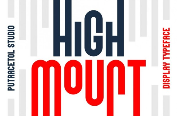 High Mount Typeface