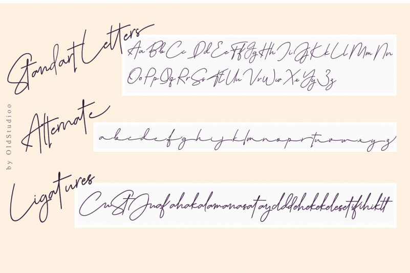 July it Signature Font-3