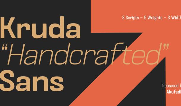 Kruda Font Family