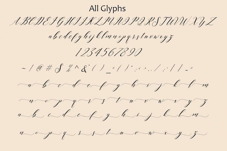 Last Night Script Font-2