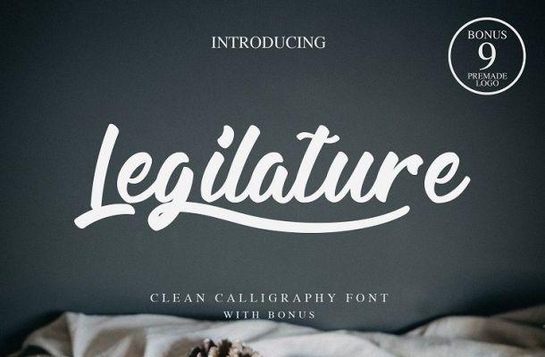 Legilature Script Font