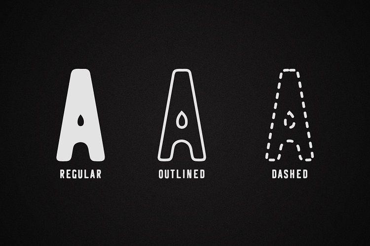 Logbond Typeface-2