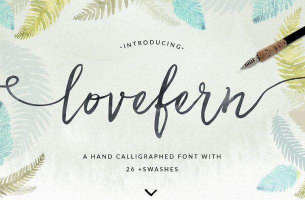 Lovefern Script Font