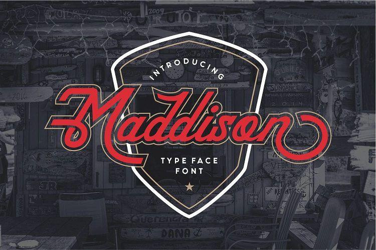 Maddison Typeface