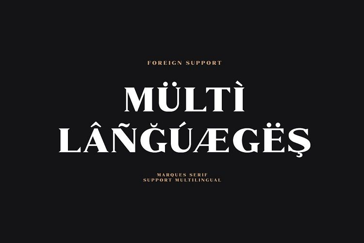 Marques Font Family-4