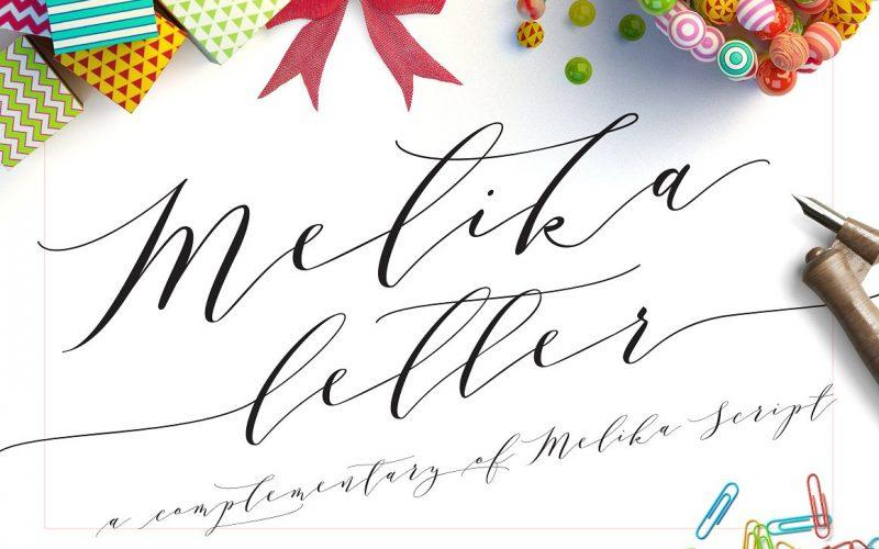 Melika Script Font