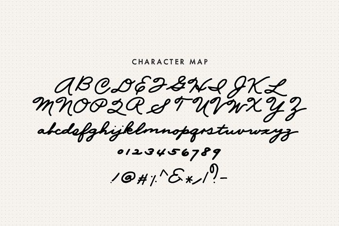 Mix Palmer Script Font-2