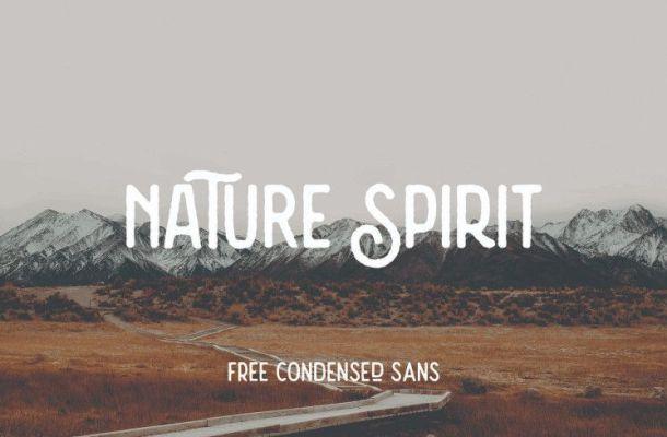 Nature Spirit Vintage Font